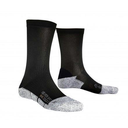 X-socks Silverday wandelsokken zwart
